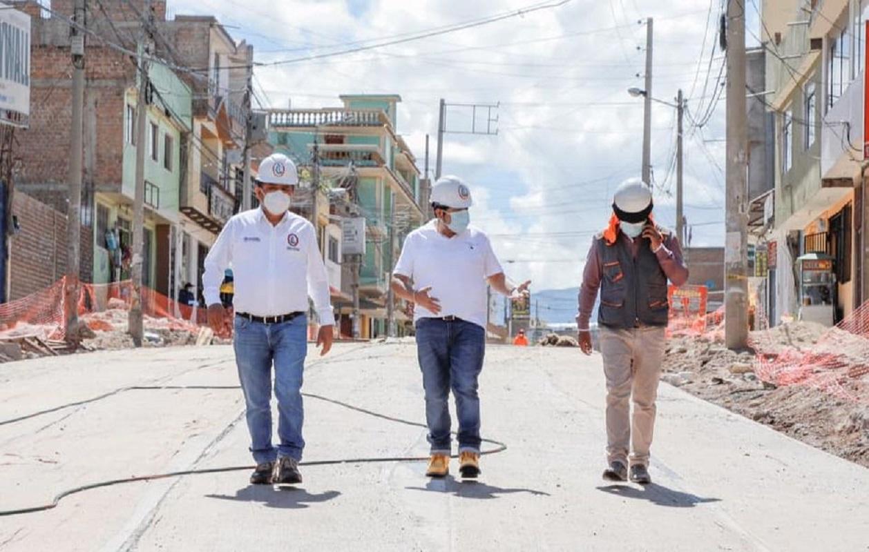 Carlos Rua, 7 millones de soles y más 100 puestos de trabajos en la obra emblemática Av. El Ejército de Ayacucho.