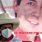 Pedro Castillo, el maestro del Perú que se convierte en presidente de la nación Inca, por voluntad popular.