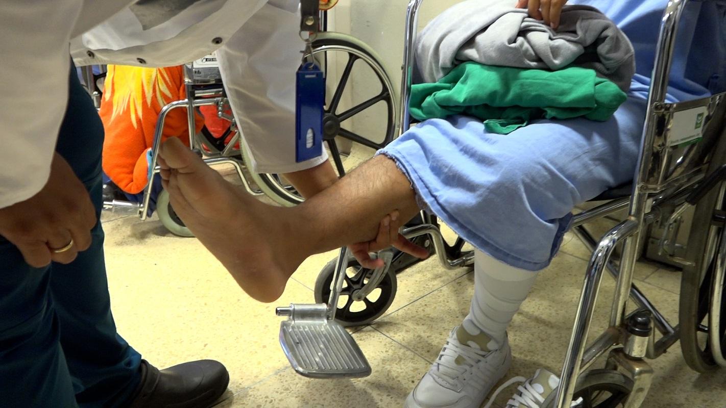 Pacientes sometidos a complejas cirugías de ruptura de los tendones se recuperan exitosamente en nuestro país.
