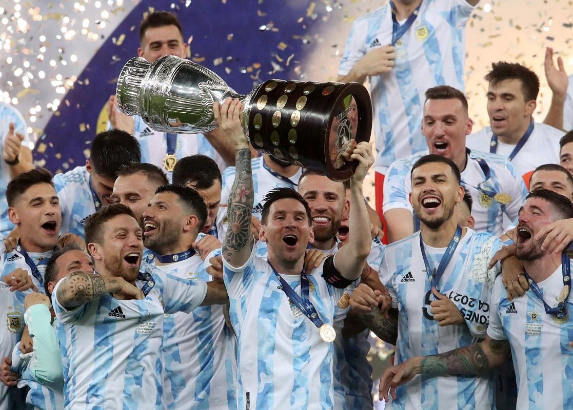 La Copa América, el torneo más antiguo del continente concluyó con un campeón Argentina.