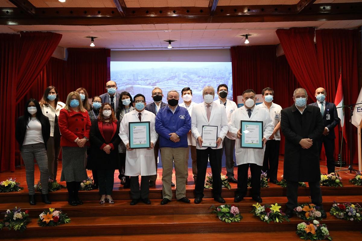 EsSalud recibe certificación internacional Global Certification Bureau por implementar políticas antisoborno.