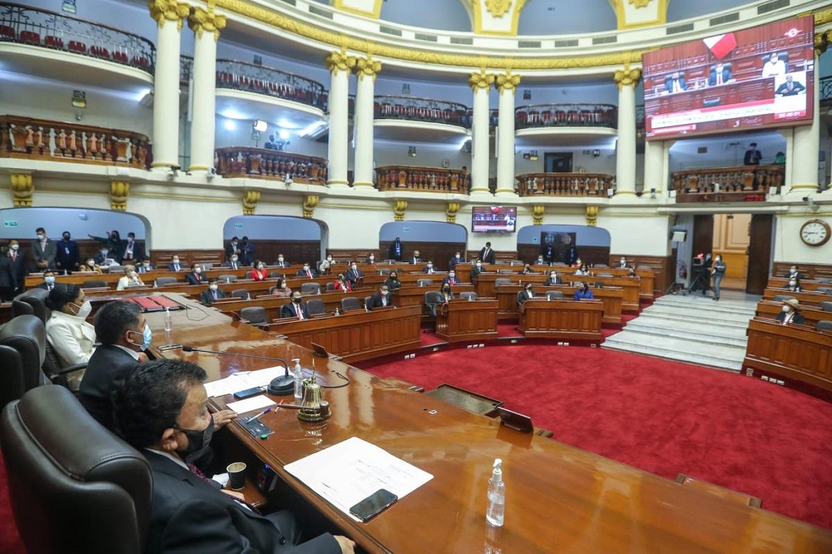 Este lunes 26 eligen la mesa directiva 2021-2022 del parlamento peruano, votación se hará en dos grupos.