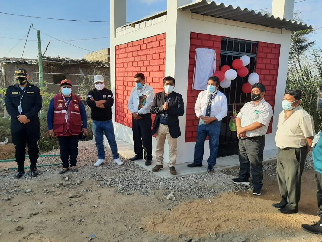 Inauguran en Monsefú pozos de agua donados por la Iglesia de Jesucristo.