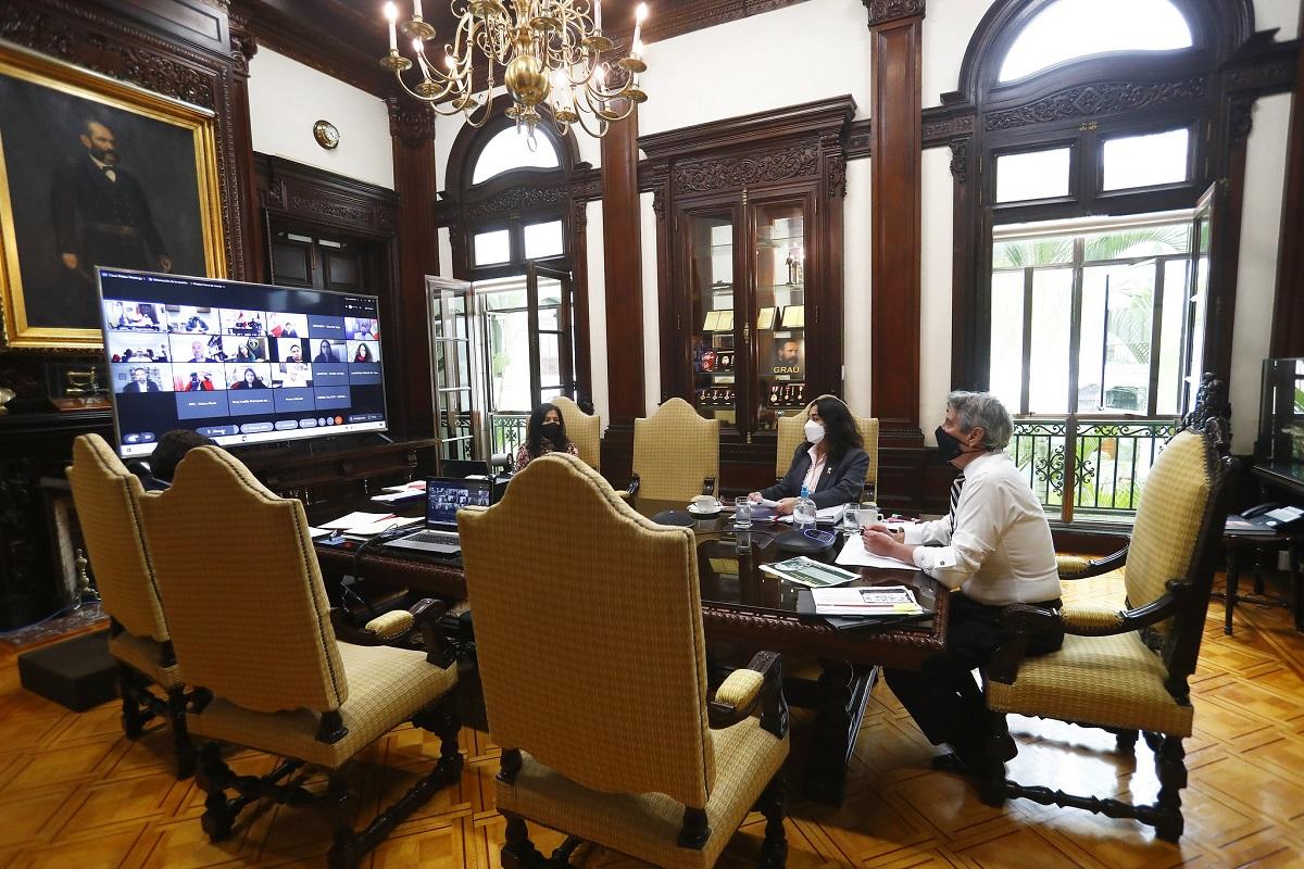 El presidente Sagasti, indicó que se ha iniciado la recuperación de la confianza en todas las instituciones del país.