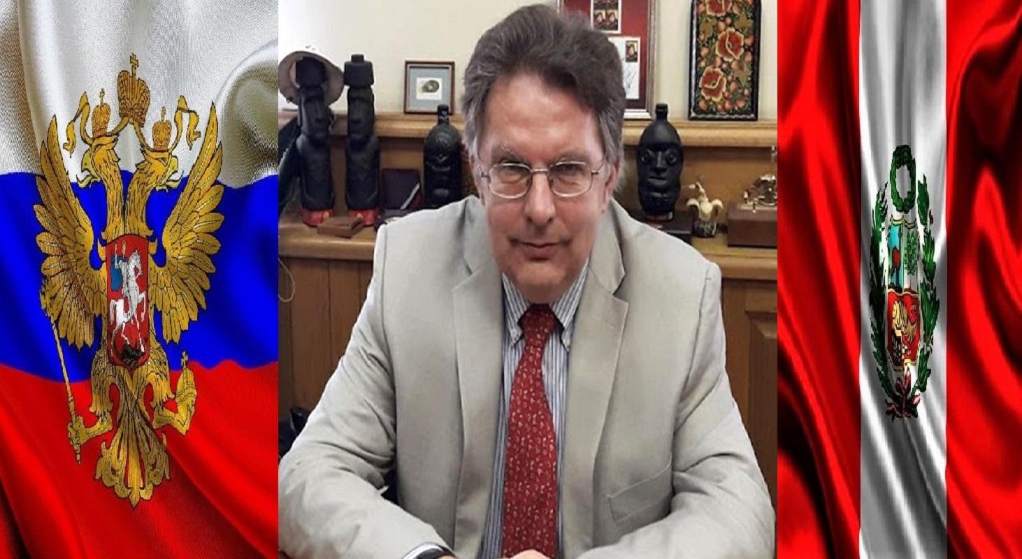 Ministerio de Asuntos Exteriores de Rusia, Alexander Schetinin, sobre el bicentenario de la independencia del Perú.