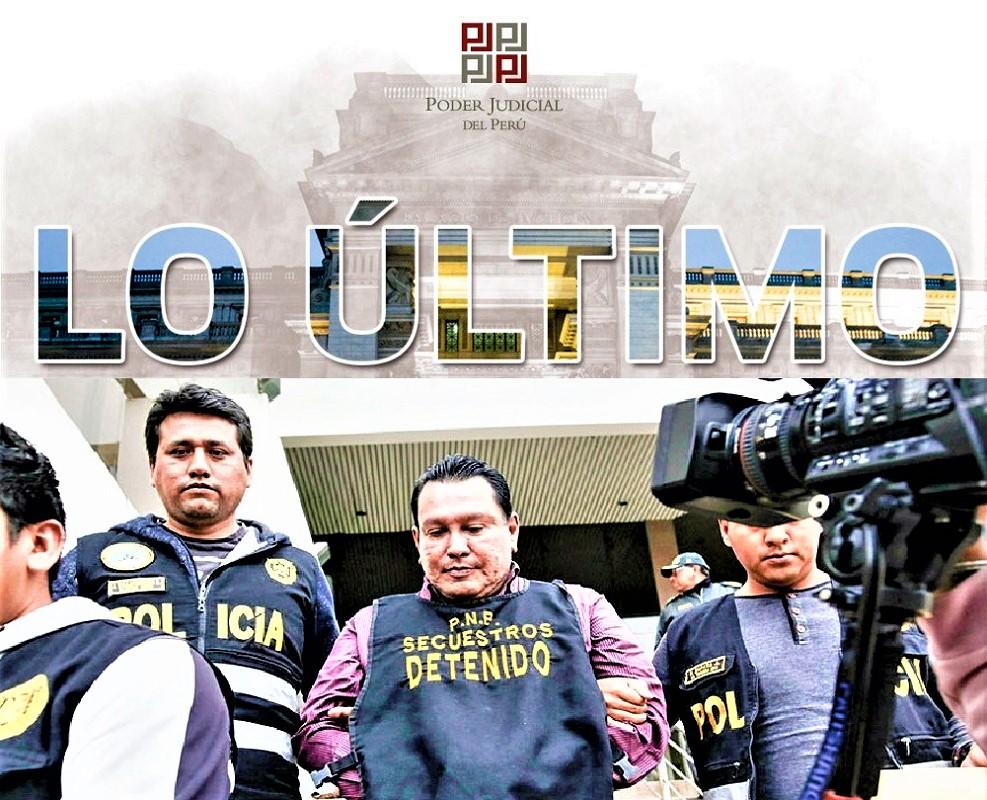 Sala Penal del Poder Judicial condena a once años de prisión a exgobernador del Callao Feliz Moreno.