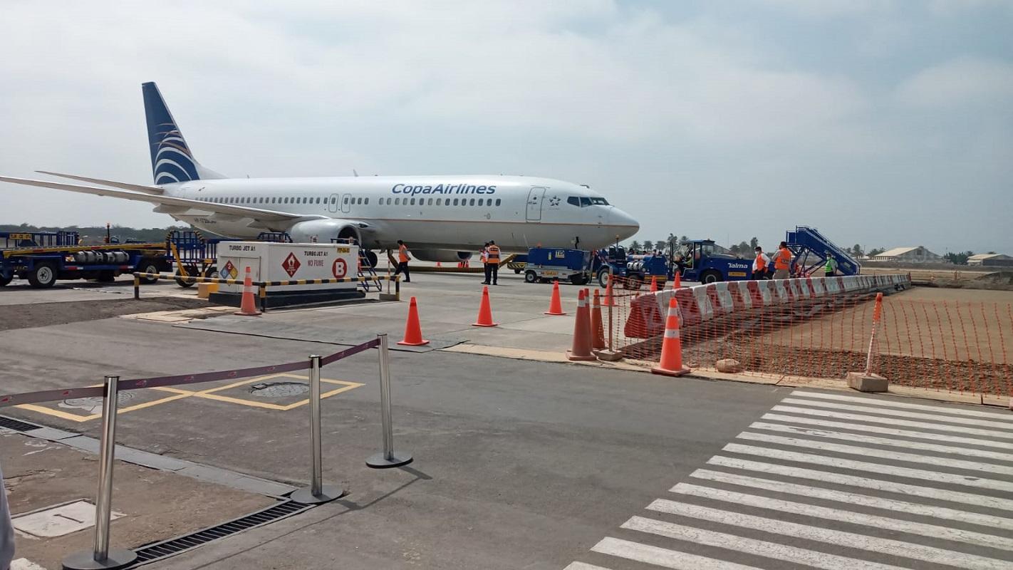 Se reinicia vuelo Panamá-Chiclayo dos veces por semana como parte de la reactivación del turismo.