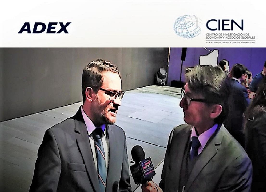 Edgar Vásquez, director CIEN-ADEX hay que recuperar la imagen de nuestro país en el exterior.