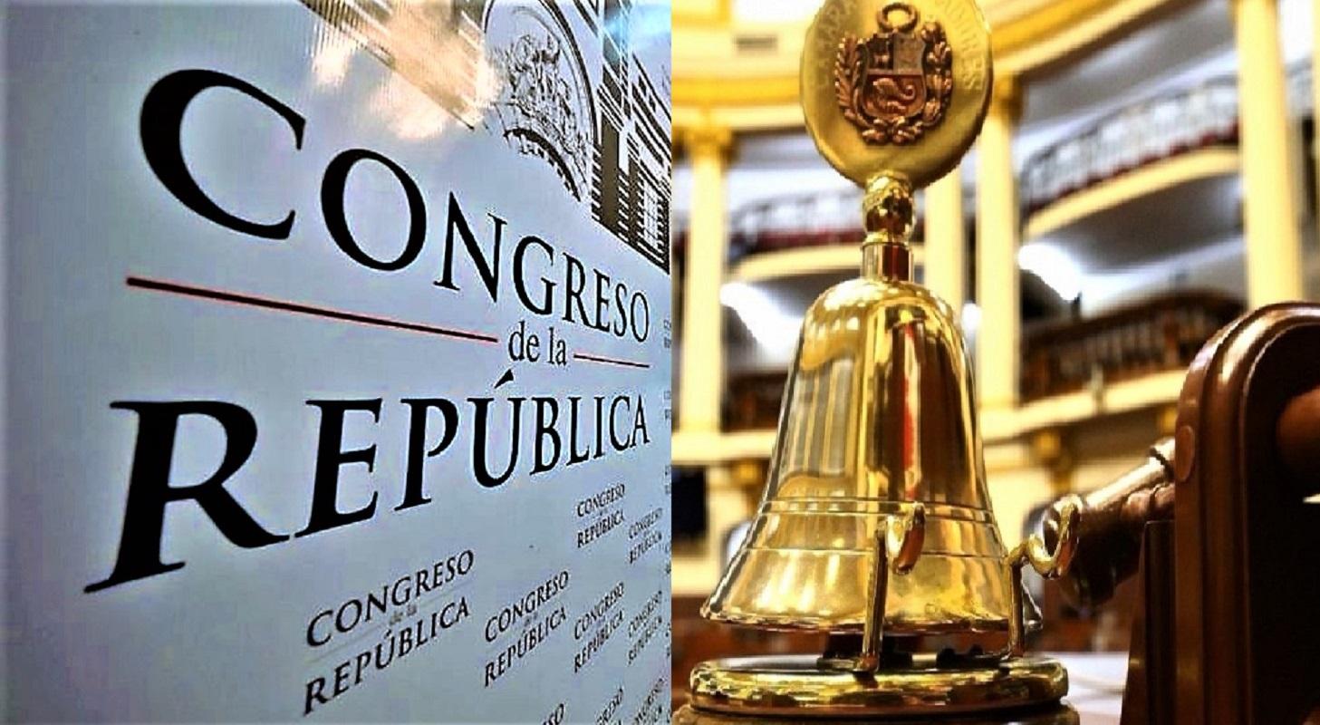 Mañana juramentan congresistas electos, de manera presencial, por bancadas parlamentarias, divididas en tres grupos.