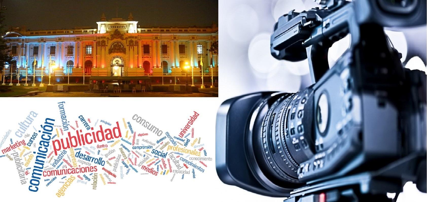 Congreso aprueba norma para distribuir la publicidad estatal en medios de comunicación de provincias.