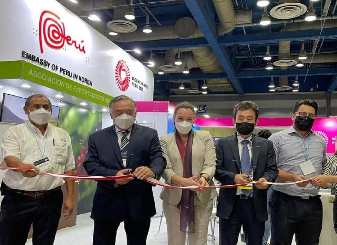 Calidad y origen del Café y Cacao peruano se imponen en la feria Expo Café Seúl generándose grandes oportunidades.