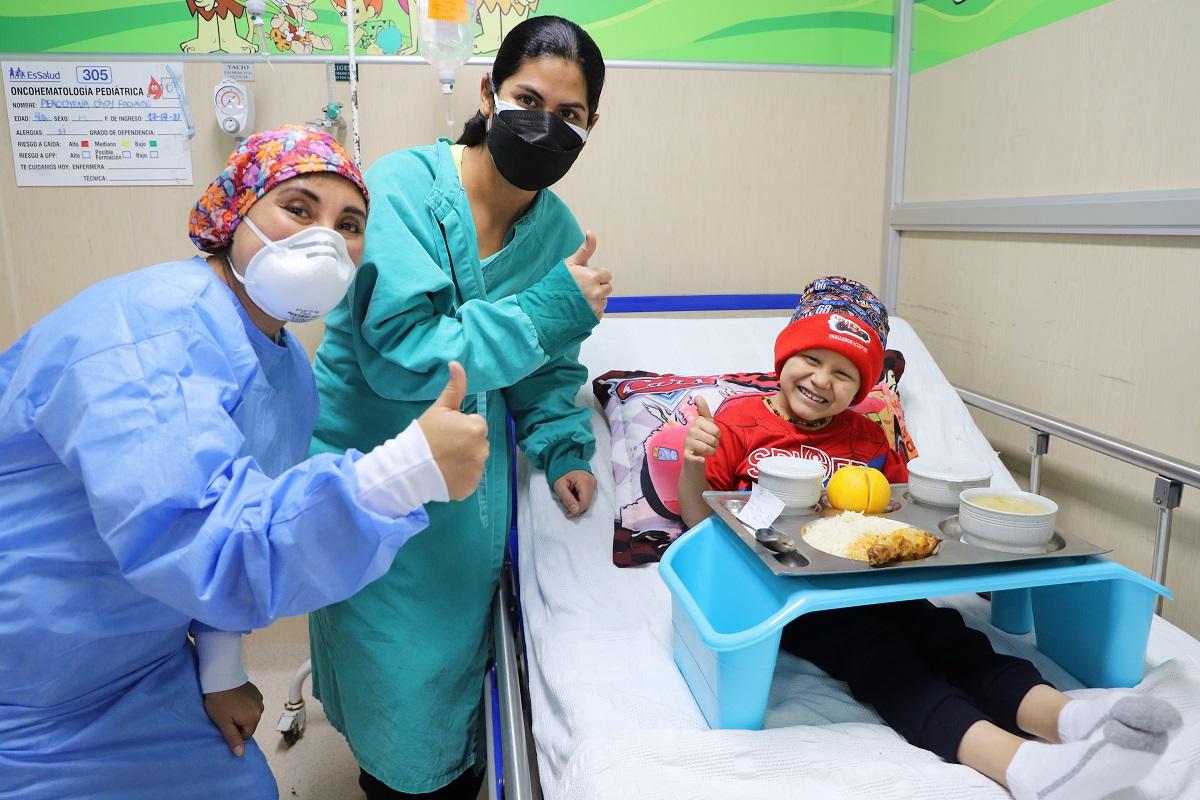 40% de niños internados en hospital Rebagliati presentan obesidad y el sobrepeso, informó EsSalud.