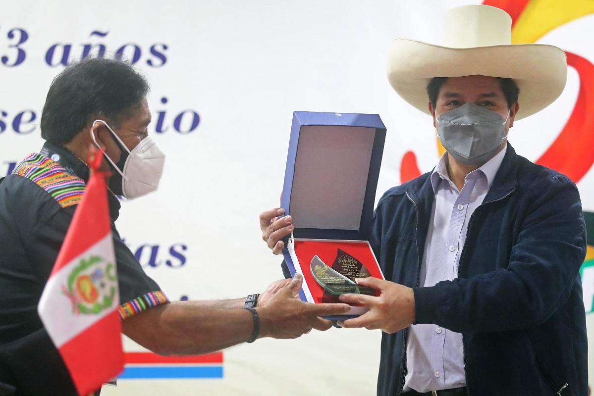 Pedro Castillo, en el 53 aniversario de la Caja de Protección y Asistencia Social canillitas cuentan con el apoyo del gobierno.