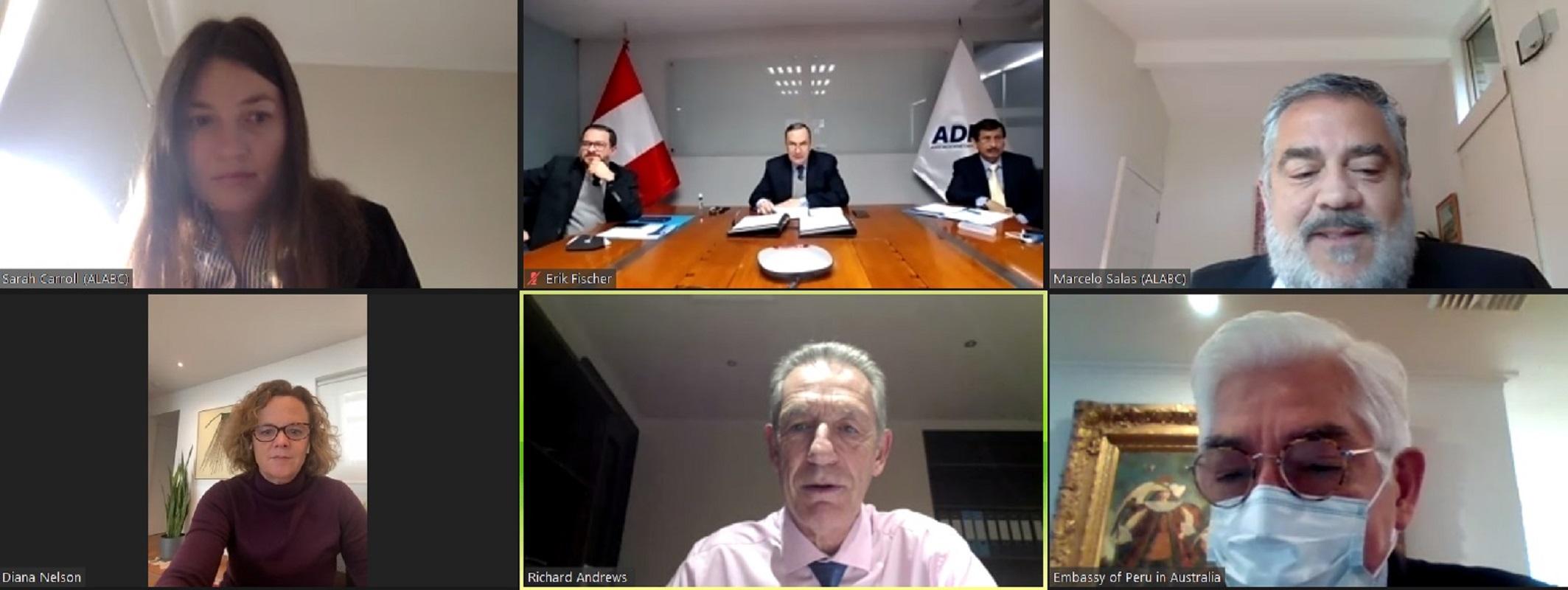 Se establece el Consejo Empresarial Australia-Perú (APBC) que promueve el comercio e inversión entre Australia y Perú.
