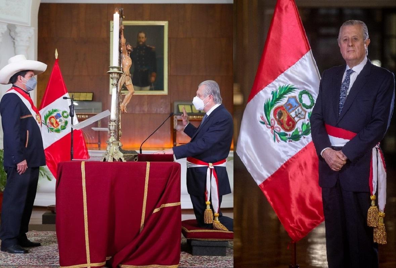 Canciller, Maúrtua de Romaña, serviré a un gobierno democrático y constitucional que está ungido por el pueblo peruano.