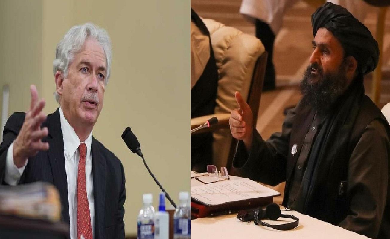 En absoluto secreto se reúnen William Burns director de la CIA y Abdul Ghani Baradar, líder talibán