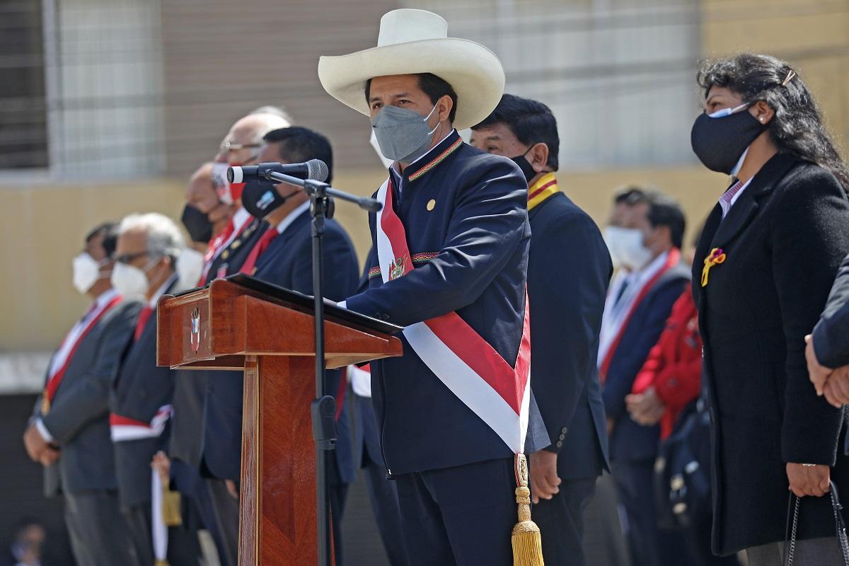 La agenda del gobierno la pone el pueblo sostuvo el jefe de Estado al participar en el 92 aniversario de la reincorporación de Tacna al Perú.