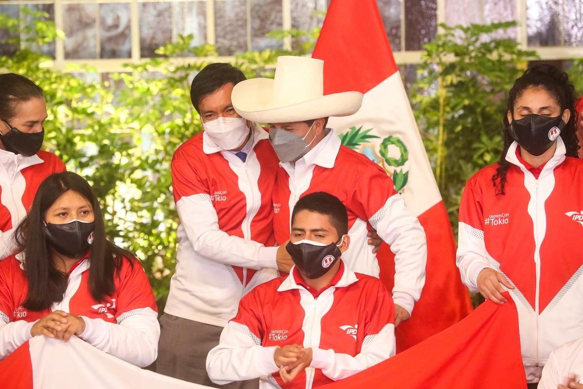 Gobierno luchará para desterrar la discriminación, sostuvo, Pedro Castillo, ante deportistas Paralímpicos de Tokio 2020.