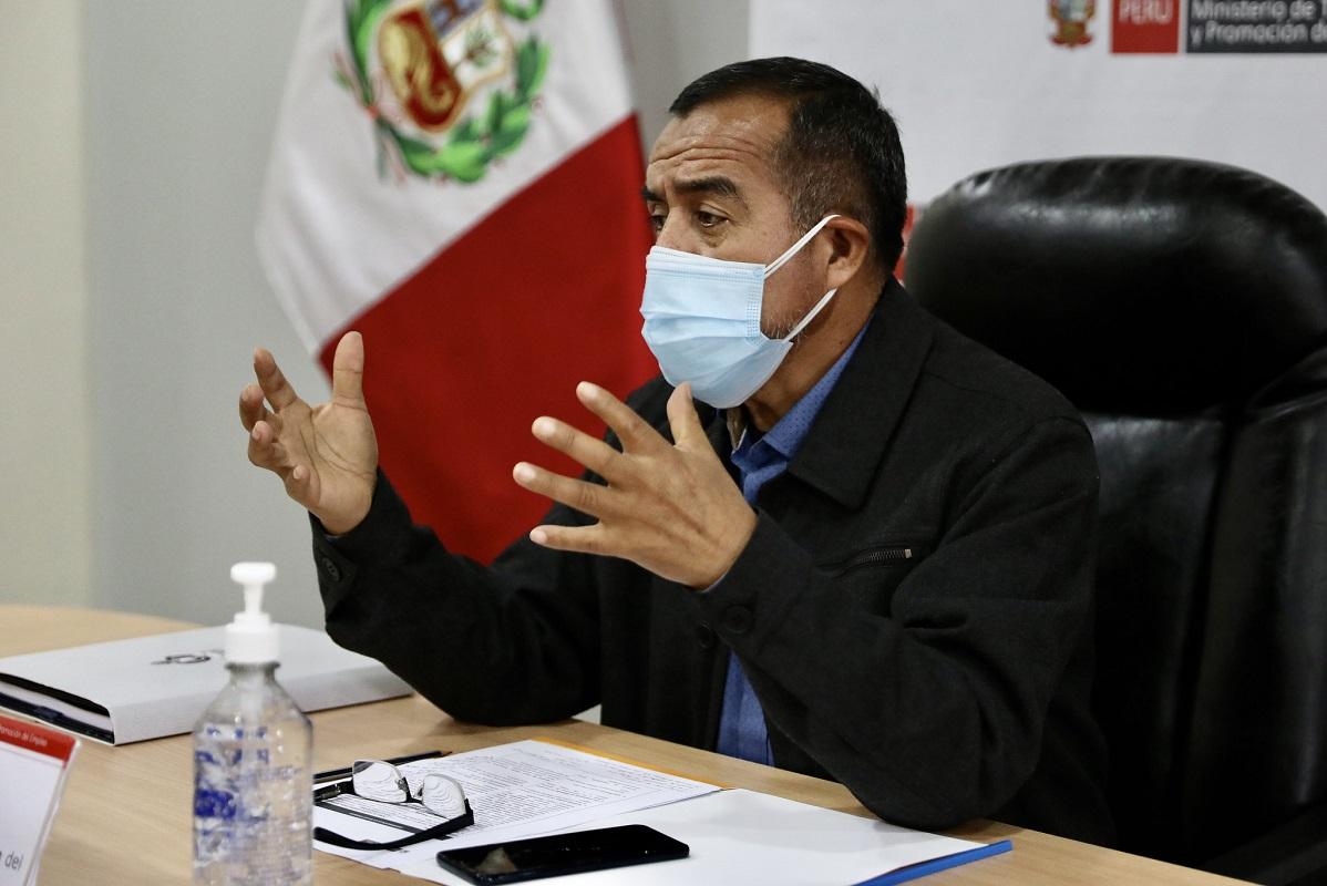 Jefe de Estado Pedro Castillo, acepta la renuncia del ministro de Trabajo y Promoción del Empleo, Iber Maraví, quien esta tarde presentó su renuncia.