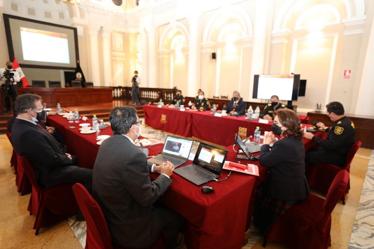 Implementación del nuevo sistema digital de requisitorias implementaran Poder Judicial y la Policía Nacional.