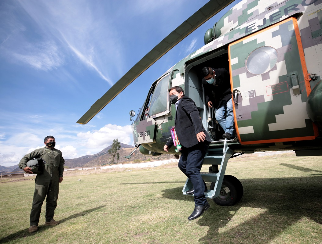 PCM se instala mesa técnica de desarrollo integral para atender necesidades de la provincia de Víctor Fajardo en Ayacucho.