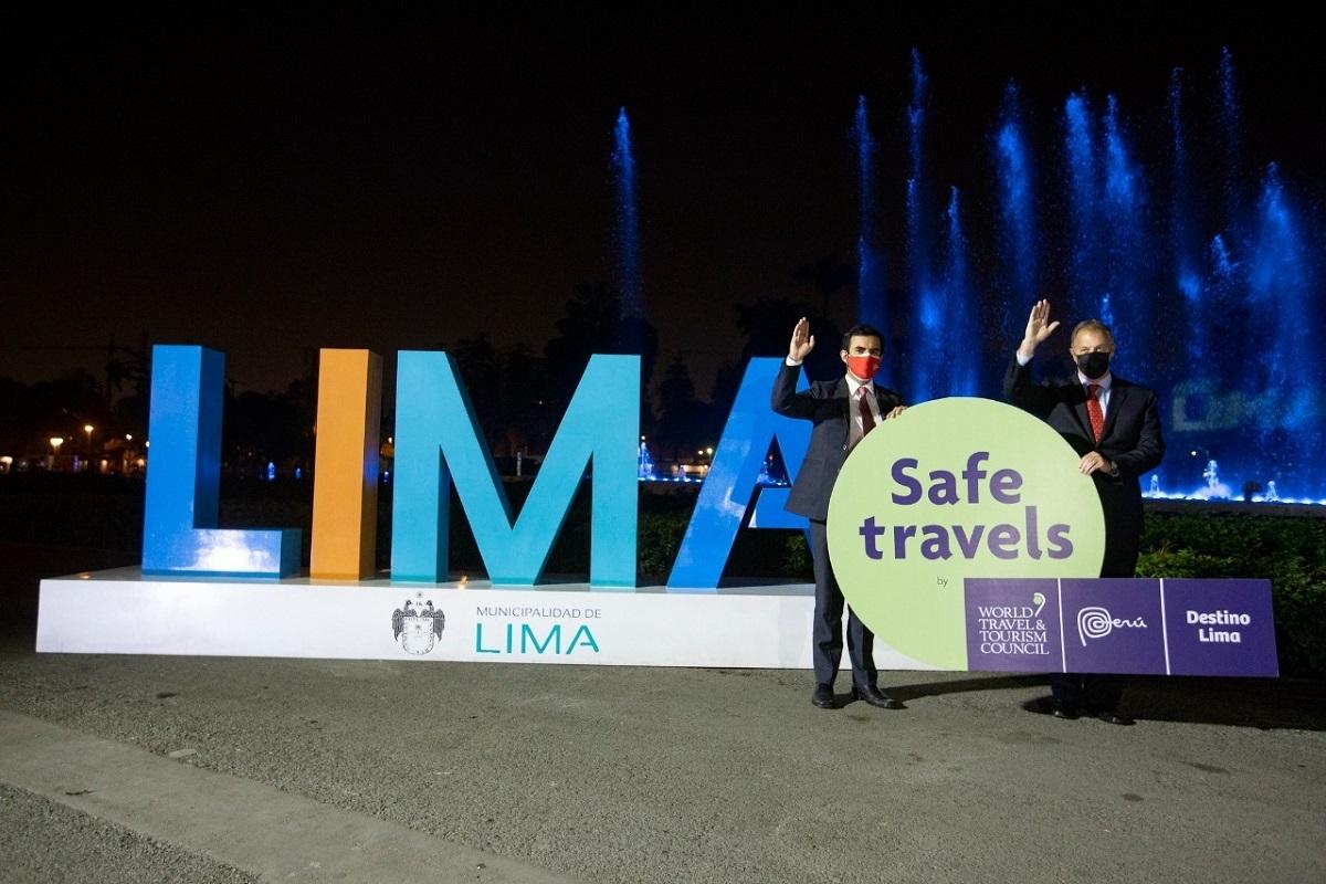 Mincetur otorga sello internacional Safe Travels a Lima, y el derecho de sublicencias a sus operadores turísticos.