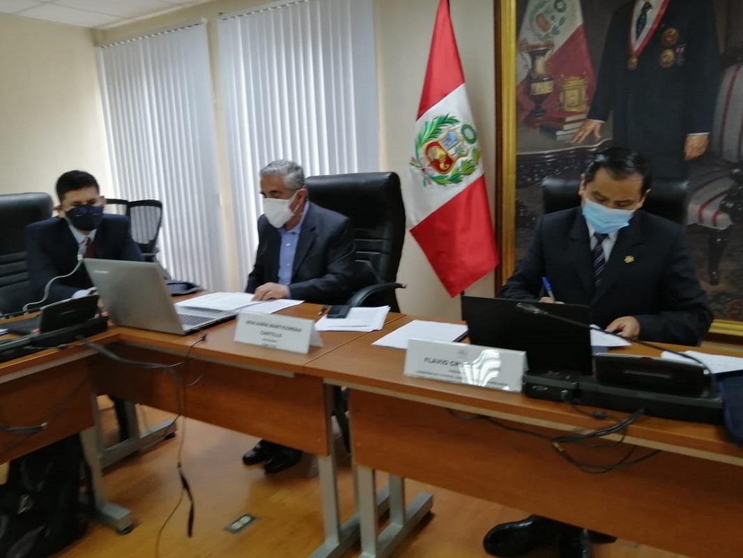 Presidente del Concytec informó sobre su situación ante Comisión de Ciencia, Innovación y Tecnología del Congreso.
