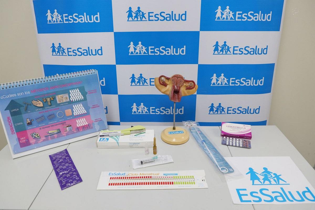 Anticonceptivos femeninos de larga duración son los más usados por las mujeres en Perú informó EsSalud.