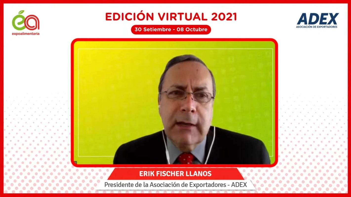 Se inauguró La Expoalimentaria Virtual 2021, y ADEX pide ser parte de la segunda reforma agraria.