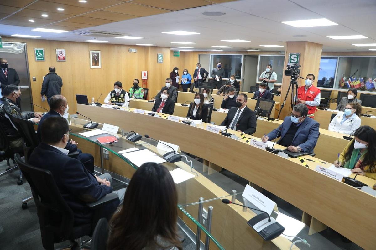 MTC el titular del pliego Juan Silva pidió acciones concretas contra contaminación ambiental en zonas aledañas al puerto del Callao.