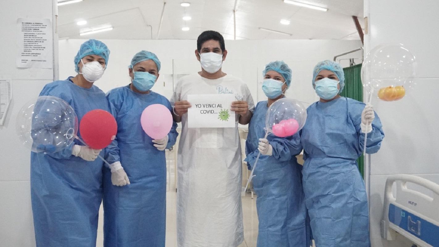 Paciente de 39 años salva la vida luego de infectarse con la variante delta de la Covid-19 en la región Ucayali.