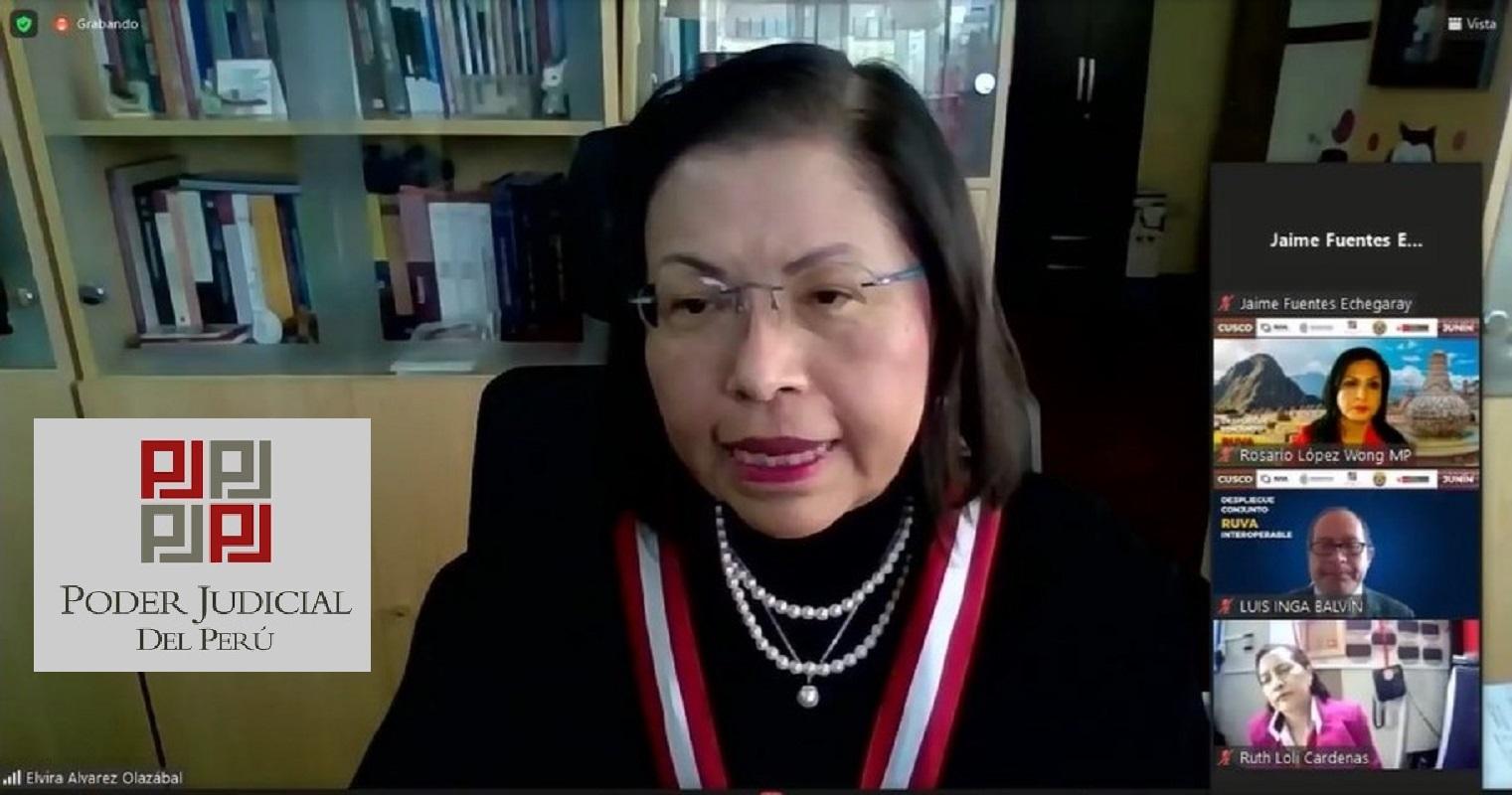 Distritos judiciales y fiscales de Cusco y Junín fueron incluidos en el Registro Único de Víctimas y Personas Agresoras (RUVA).
