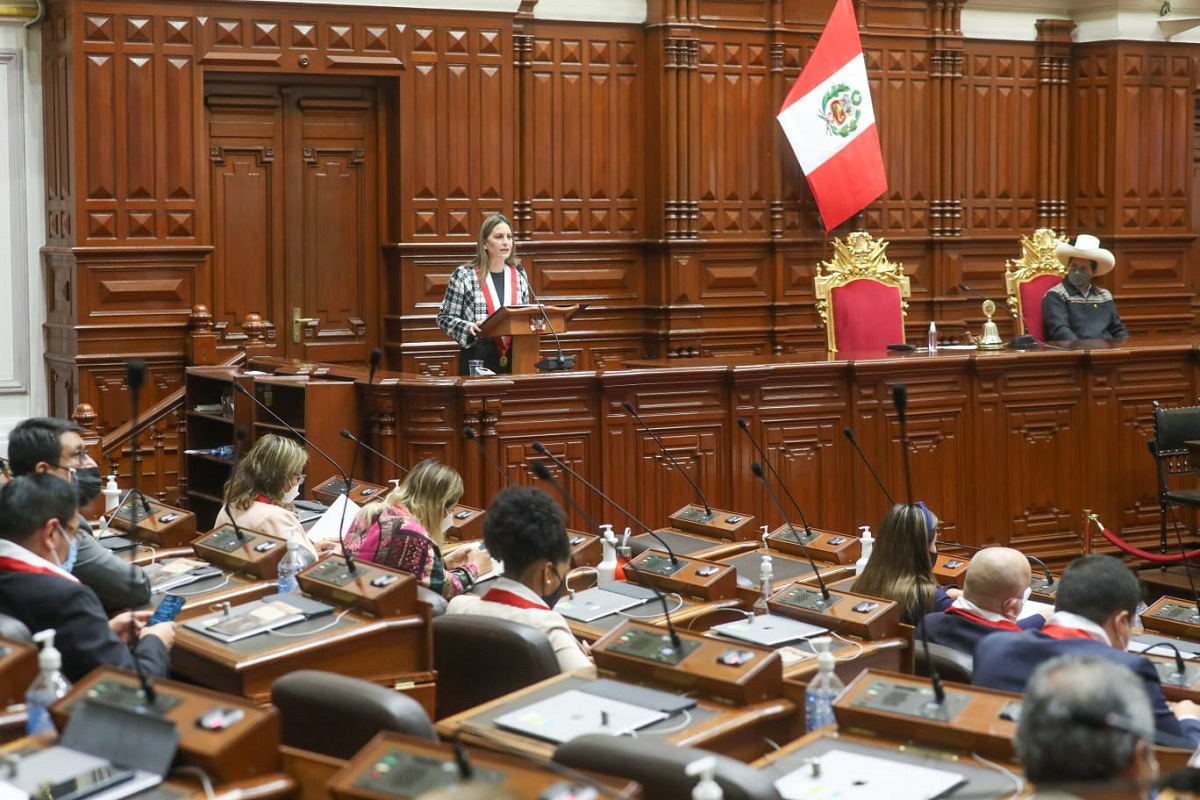 Actos celebratorios por el 199° aniversario del Congreso se iniciaron con la sesión solemne del pleno.