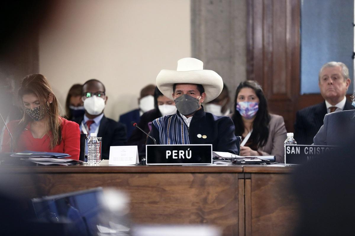 CELAC (México) Pedro Castillo, sostuvo que Perú fortalecerá sus relaciones diplomáticas con todo Latinoamérica y el mundo.