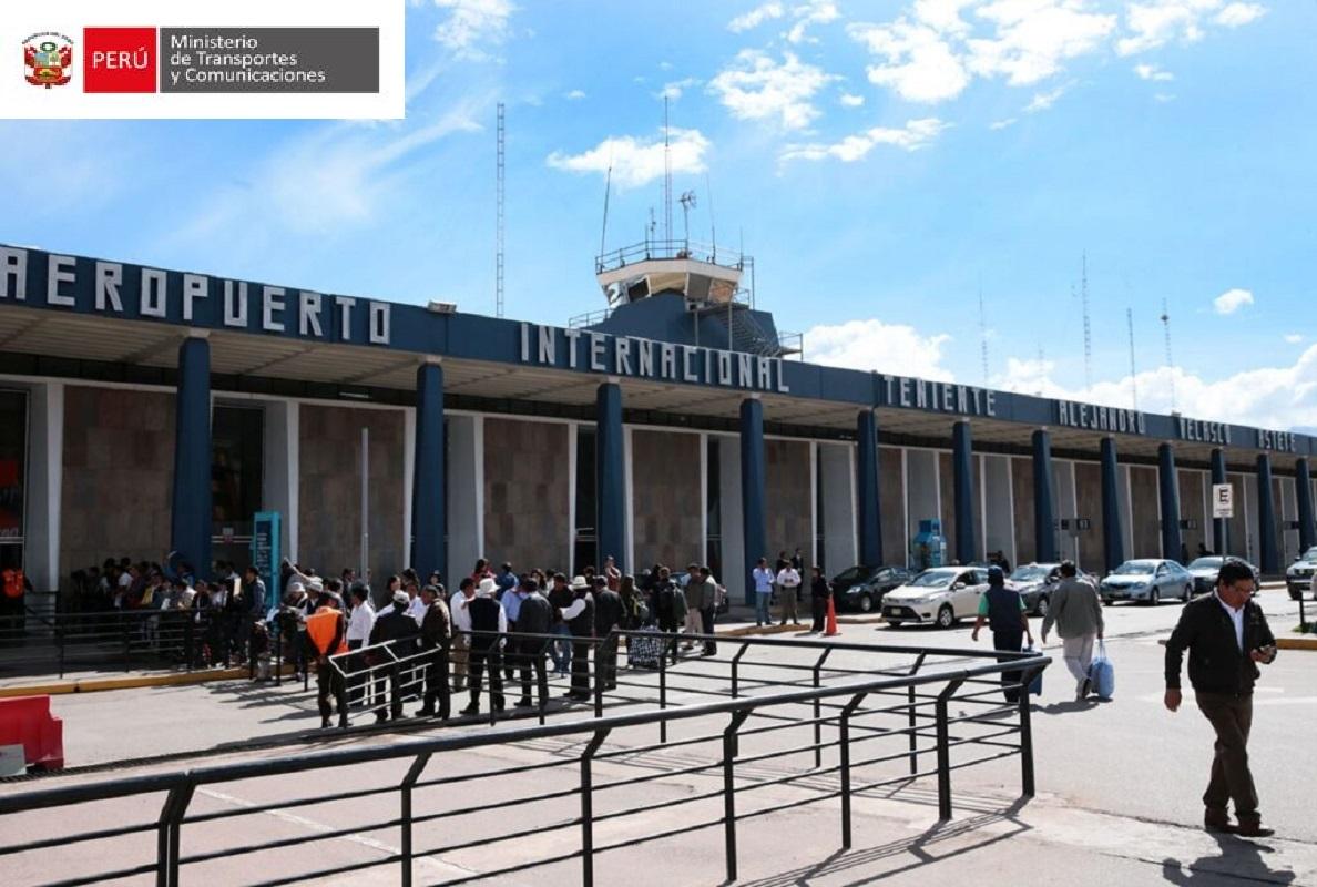Aeropuerto Internacional del Cusco ya se reinició al público luego de culminarse trabajos de mantenimiento.