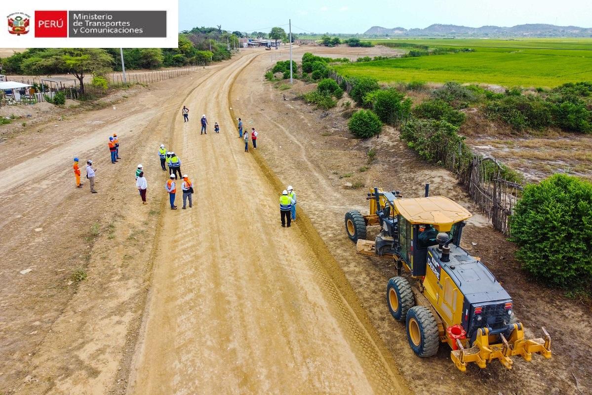 El inicio de la pavimentación de 239 Km., de vías departamentales en región Apurímac beneficiará a mas de 25 mil ciudadanos.