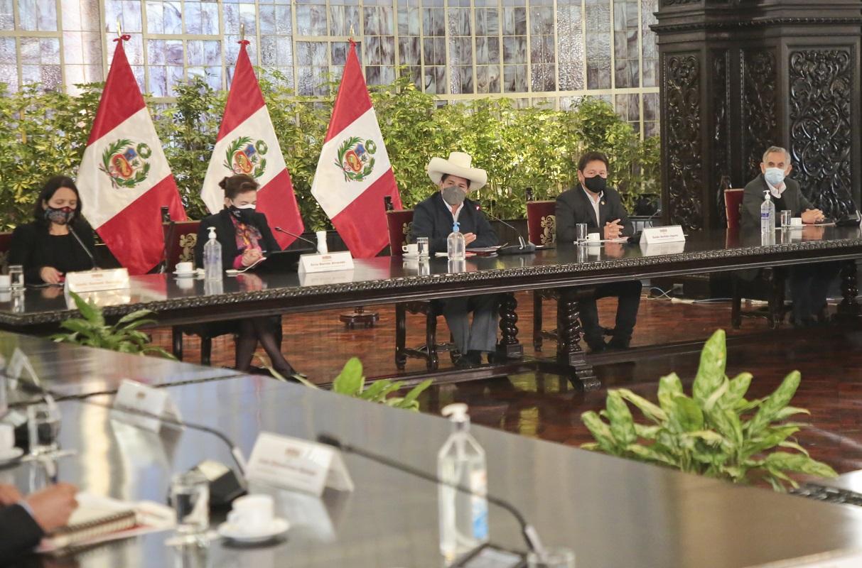 Jefe de Estado, Pedro Castillo Terrones instaló el CONAIG Comisión Nacional de Alto Nivel para la Igualdad de Género.