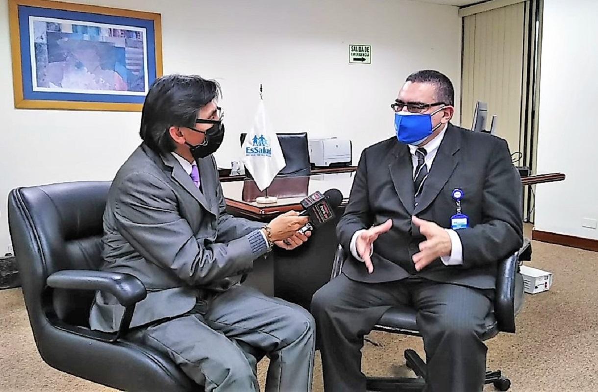 Eloy Durán, gerente general de EsSalud, indicó que hospitales de Piura, Chimbote y la Torre Trecca, sumarán 3 millones de consultas al año.