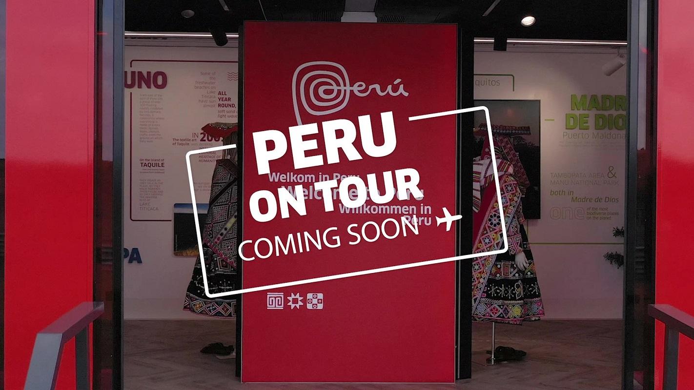 """""""PERÚ ON TOUR"""", visitará Rotterdam, Amsterdam, Munich y Hamburgo; la marca de nuestro turismo y su oferta exportable."""