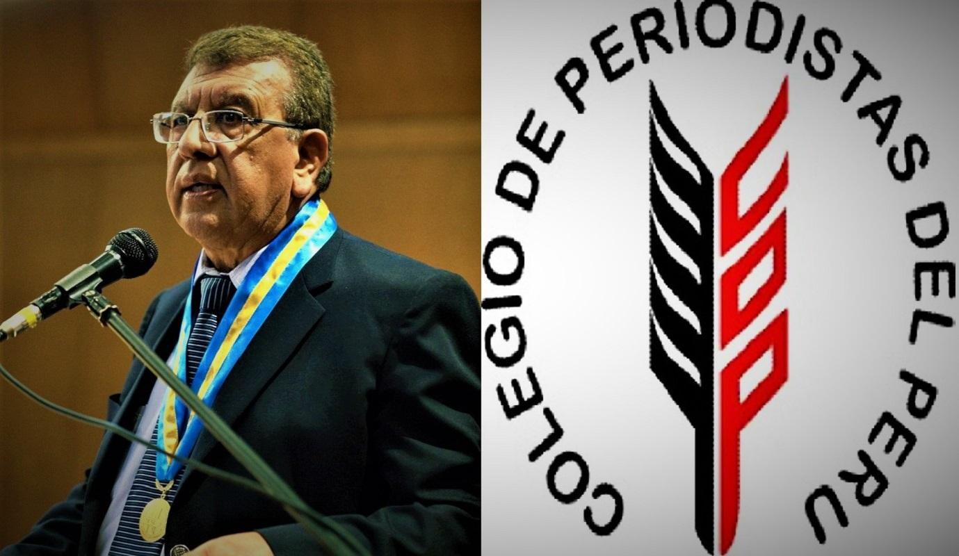 Ricardo Burgos Olaechea se impuso prístinamente en proceso electoral en el Colegio de Periodistas del Perú.