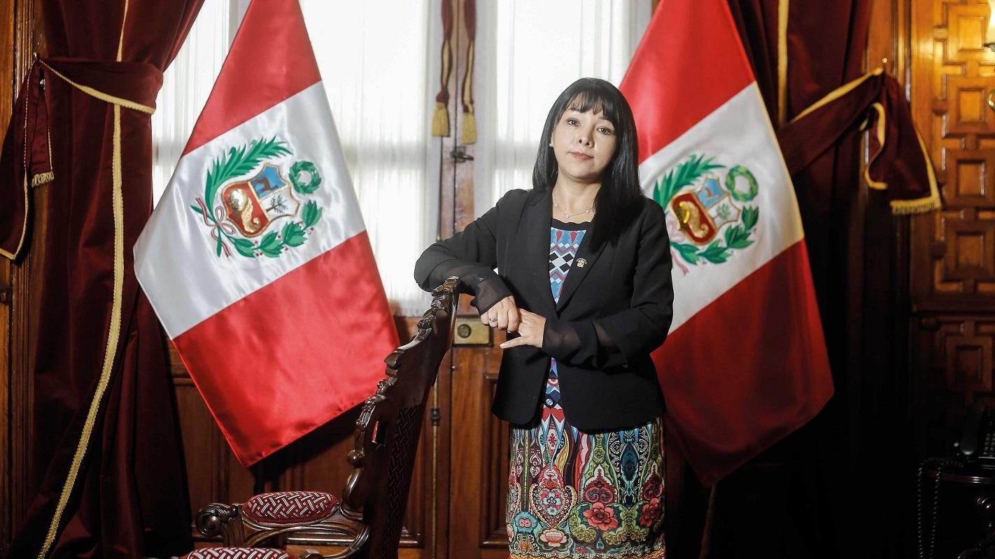 Mirtha Vásquez, sería la nueva premier peruana en el gobierno de Pedro Castillo.
