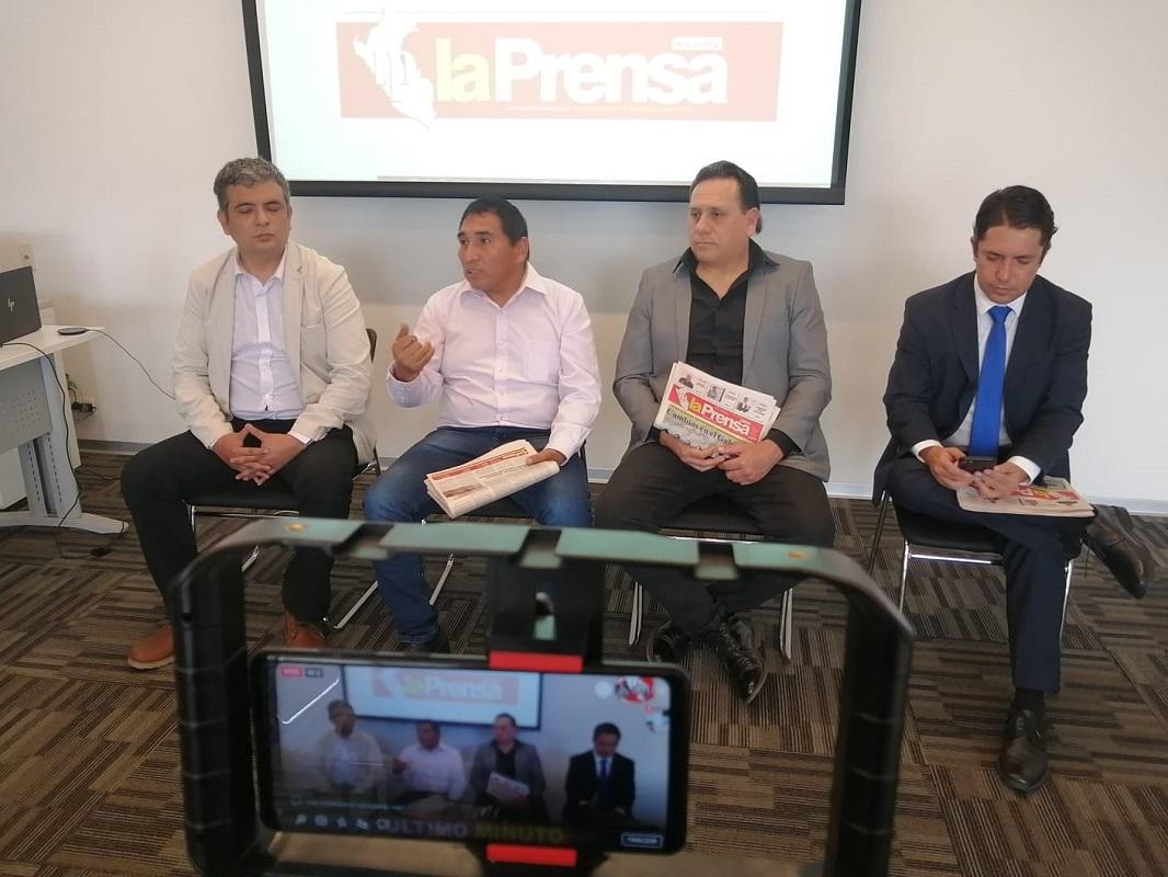 Director del diario La Prensa, indicó que circulará pese al atropello por parte de la Empresa Editora El Comercio.