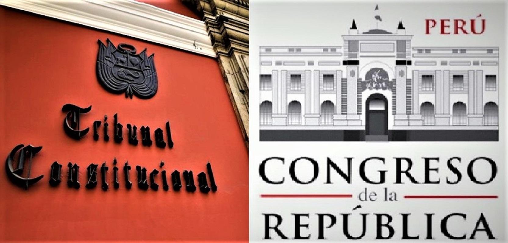 Comisión especial del Congreso aprobó proceso de selección de candidatos a magistrados del Tribunal Constitucional.